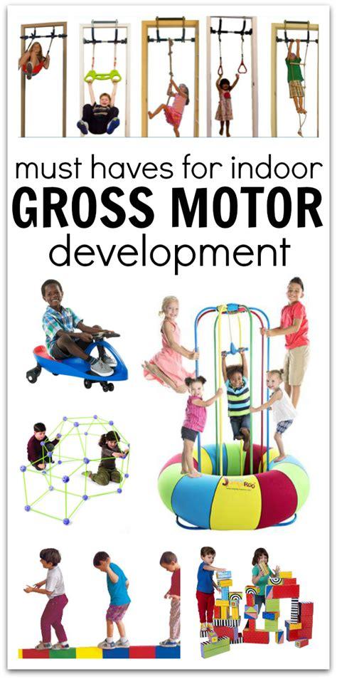 motor development activities toys and equipment for indoor gross motor development no