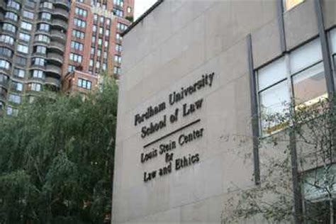 Fordham Jd Mba by New York School Directory Lawcrossing
