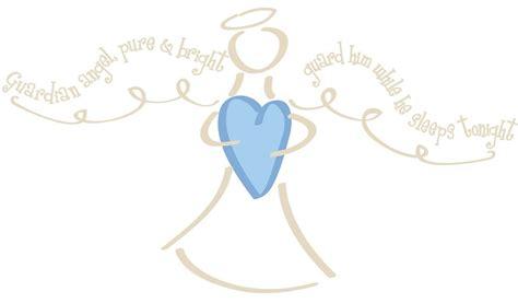 Baby Boy Bedroom Wall Stickers new guardian angel prayer wall decals baby boys nursery
