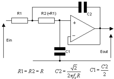 high pass filter non inverting op circuits
