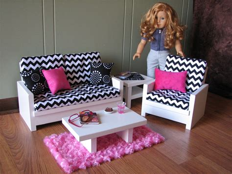 american girl doll couch 18 doll furniture american girl sized living room