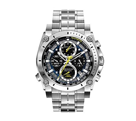 bulova s stainless steel precisionist chronograph