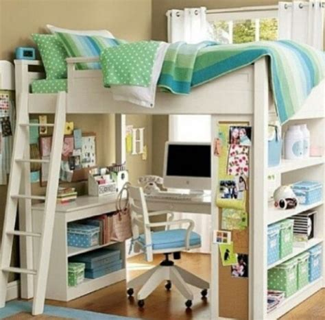 Diy Bed Desk Diy Bunk Bed With Desk It For Home Pinterest