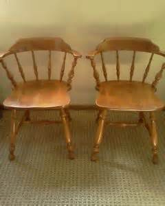 Early American Dining Room Furniture Ethan Allen Early American Maple Dining Room Set Table 4 Chairs Up Only On Popscreen
