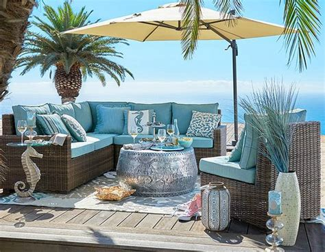 Outdoor Beach Paradise   Pier 1   Beach Home Decor Design