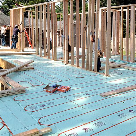 module floorheating warmboard s radiant panel install directly joist or slab