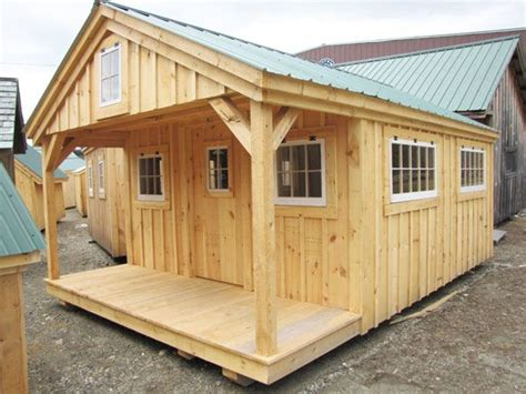 10 x 16 floor grid bunk house building plans cabin porch and lofts