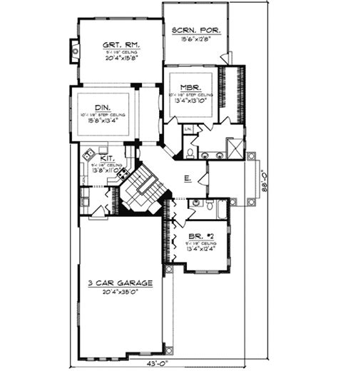 craftsman ranch house plan 890046ah architectural designs craftsman ranch 89780ah architectural designs house