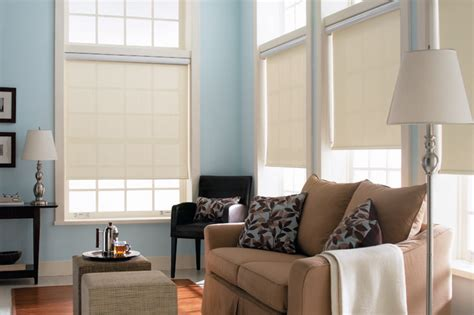 l shades for living room blinds signature light filtering roller shades