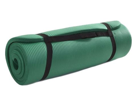 1 Inch Roll Exercise Mat - comparamus prosource premium 1 2 inch thick 71