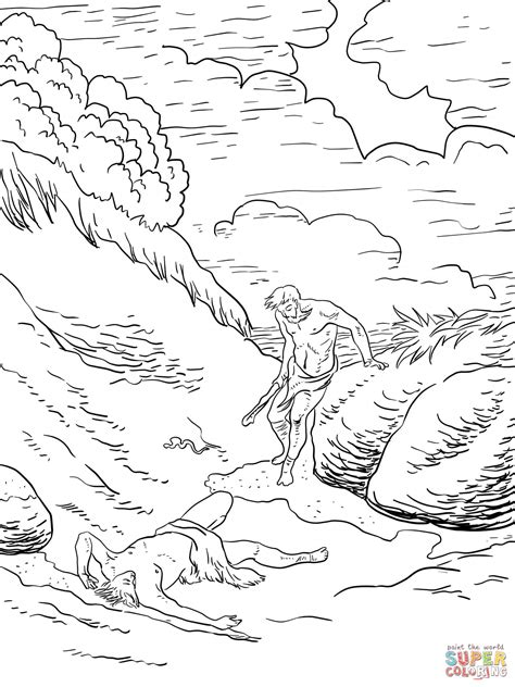 cain and abel coloring pages 301 moved permanently