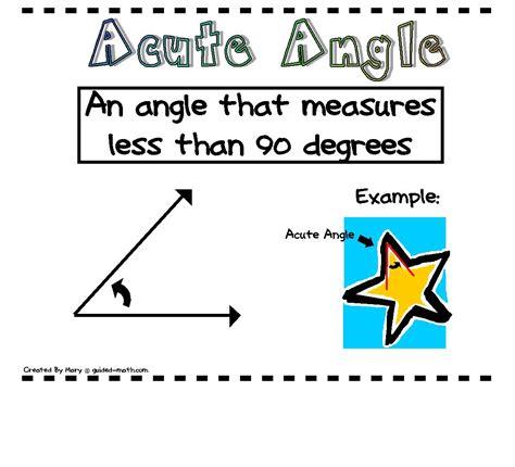 printable angles poster classroom freebies angle posters