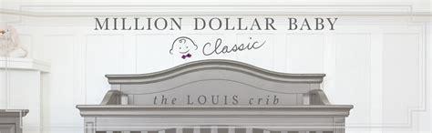 Amazon Com Million Dollar Baby Classic Louis 4 In 1 Million Dollar Baby Classic Louis 4 In 1 Convertible Crib