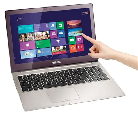 Laptop Asus Touch Screen Windows 8 asus reveals 15 quot zenbook touch u500vz laptop with windows 8 dual ssds hothardware