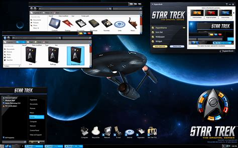 star trek themes for windows 10 star trek wallpaper themes wallpapersafari