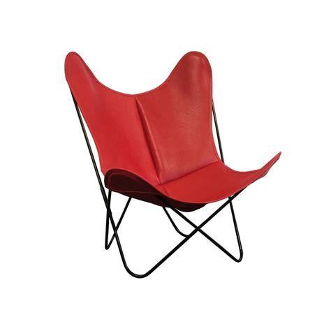 housse fauteuil aa housse de fauteuil aa butterfly en peau de vache par airborne