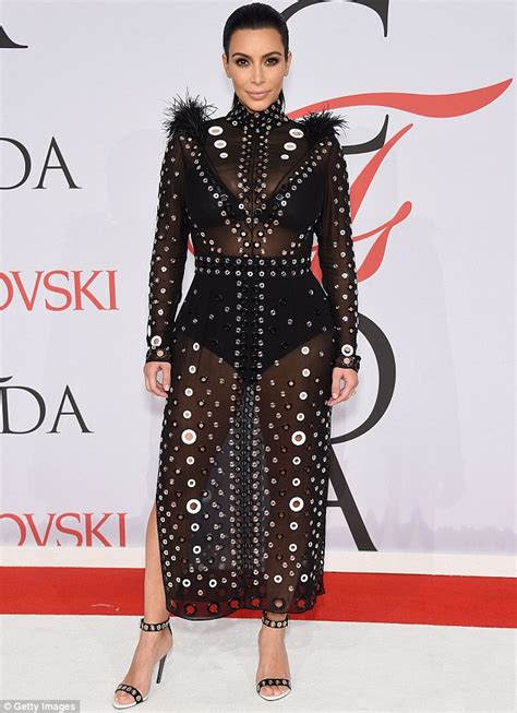 Fashion Awardsthe After by And Kanye West Arrive At The Cfda Fashion