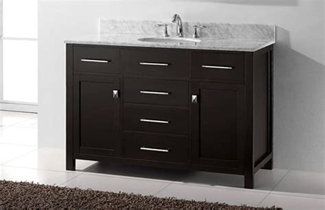 bathroom vanities without top