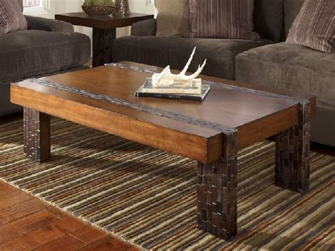 plans a rustic coffee table plans free