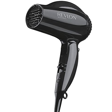 Hair Dryer Carry On Baggage revlon essentials 1875w travel compact hair dryer