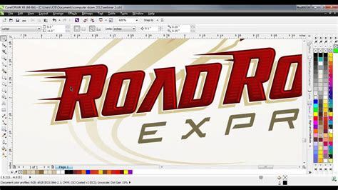 tutorial hand lettering corel draw coreldraw 174 tutorial creating custom lettering effects