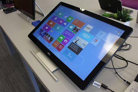 dell announces new windows 8 touchscreen monitors