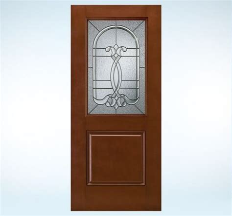 Pro Door And Glass Design Pro Smooth Pro Fiberglass Glass Panel Exterior Door Front Doors By Jeld Wen
