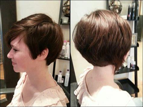 Short Hair Asymmetric Cut Not Messy But Option For Longer