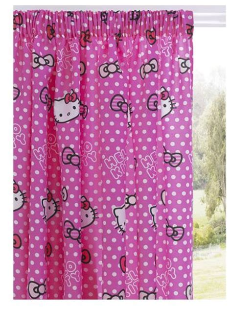 hello kitty curtain bright and fun kids curtains hometone