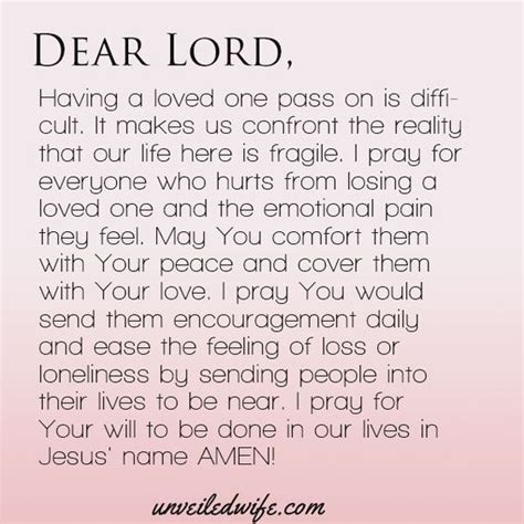 prayer comfort bereaved family prayer comfort with loss i pray read more and the o jays