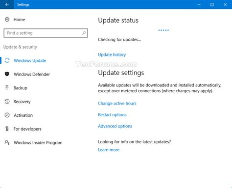 how to update to windows 10 check for and install windows update in windows 10