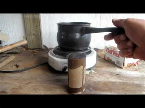How To Make Paper From Dryer Lint - make a starter log with dryer lint and a toilet paper