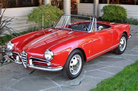 1960s Alfa Romeo by 1960 Alfa Romeo Giulietta Information And Photos Momentcar