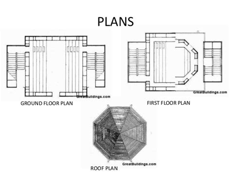 philip johnson building floor plans scaled works of aldo