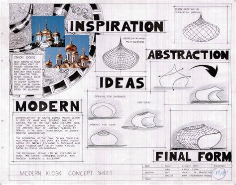 design concept list a modern kiosk design arch student com