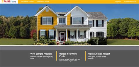 visualize paint colors exterior house house paint visualizer exterior pict architectural home