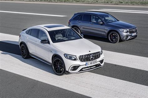 mercedes glc coupe amg official 2018 mercedes amg glc 63 and glc 63 coupe gtspirit