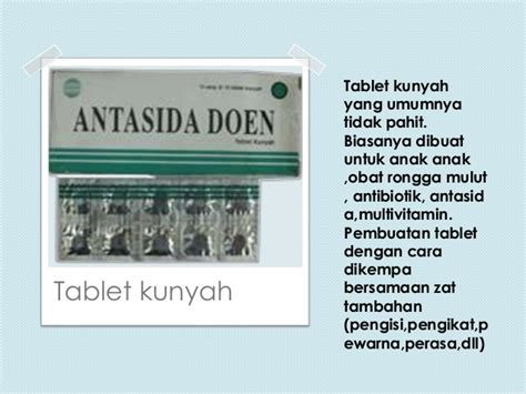 Obat Asam Lambung Hisap tablet