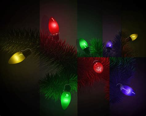 3d model amazing christmas light