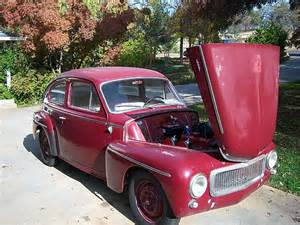 1959 Volvo 544 For Sale 1959 Volvo Pv544 For Sale Cool California
