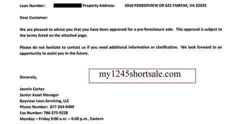 A Credit Approval Letter From The Neighborhood Assistance Corporation Of America Naca Cenlar Bayview Fidelity Trust Sale Approval Letter My1245shortsale