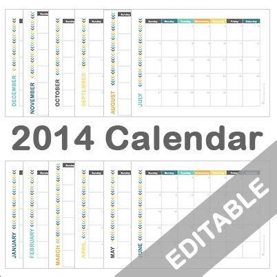 free editable calendars new calendar template site