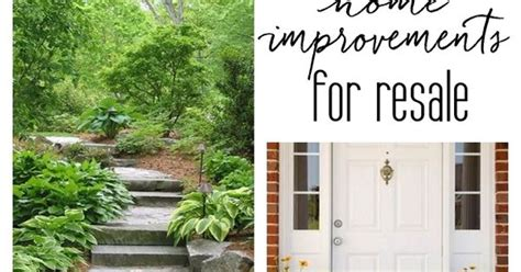 the best home improvements for resale house