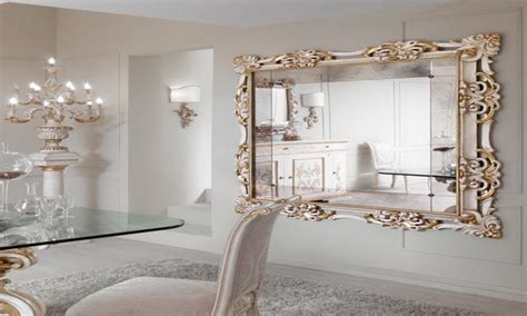 large decorative frame large mirrors for wall large wall mirror with gold frame