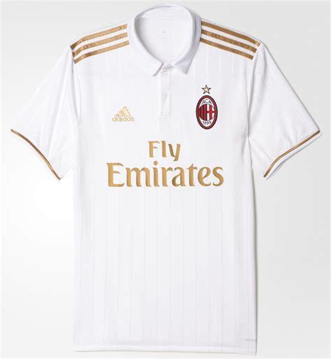 Lokal Putih Jersey Ac Milan Away Grade Ori 2017 2018 Murah jersey ac milan away 2017 adidas jual jersey ac