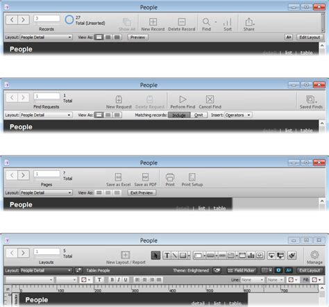filemaker get layout field names 1 working with your database filemaker pro 14 the