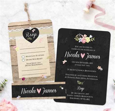 wedding invitations uk save the dates stationery from tree of hearts
