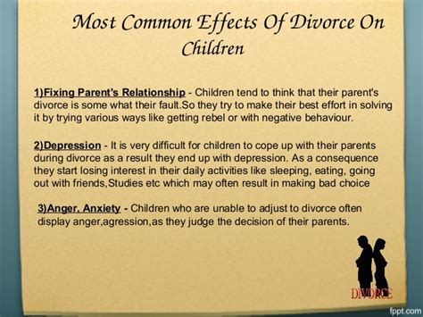 Effects Of Divorce Essay by 11 Essay Dijck Info
