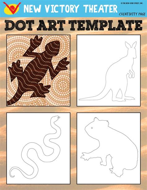 aboriginal dot templates for 110 best images about aboriginal lessons on