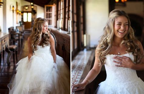 Wedding Hairstyles All Down | all down wedding hairstyles bridal beauty inspiration 5